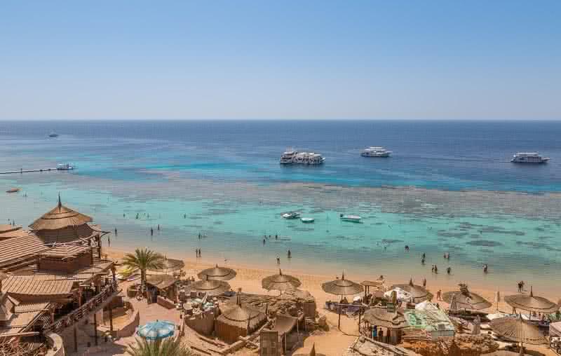 Плаж в Шарм Ел Шейх